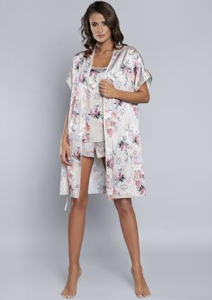 Koszula nocna Italian Fashion IBERIA wąs.ram. druk