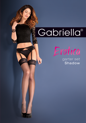 Gabriella Pończochy do paska Garter Set Shadow