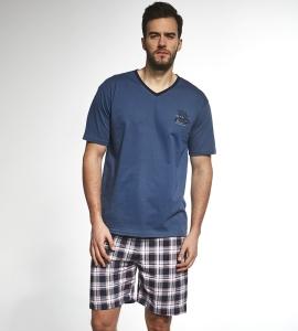 9e4217d772b744 Piżama męska Cornette 326/81 Sailing ship jeans