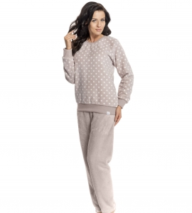 Piżama damska dn-nightwear PS.9165 Pudding