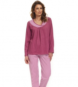 Piżama damska dn-nightwear PB.9362 Blueberry