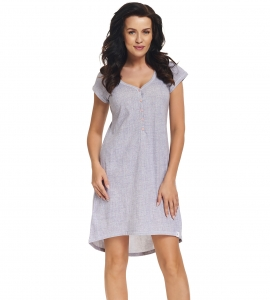 Koszula nocna dn-nightwear Hebe TM.5038 Light Jeans