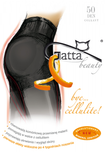 Rajstopy Gatta Beauty Bye Cellulite 50 den