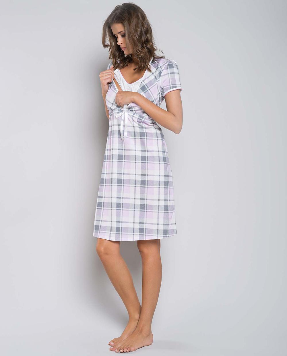 4e6d2473b94712 Koszula nocna Italian Fashion HANA kr.ręk. kratka. Koszula ciążowa. Koszula  ciążowa · Koszula ciążowa · Koszula ciążowa · Koszula karmienie